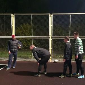 Тренировка на улице @ Площадка перед Бауманским спорткомплексом