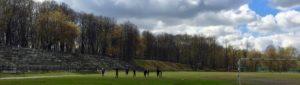 Тренировка на улице @ Стадион в Лефортовском парке