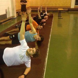 Тренировка в манеже @ Легкоатлетический манеж | Москва | город Москва | Россия